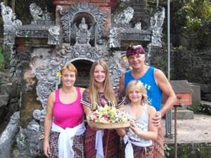 Bali reis met kinderen offers
