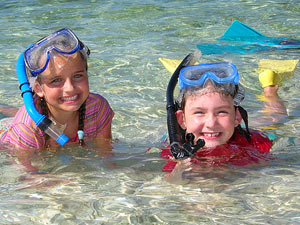 Gezinsvakantie Bali snorkelen