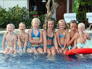 familie reis bali zwembad