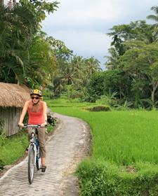 familiereizen fietsen ubud bali
