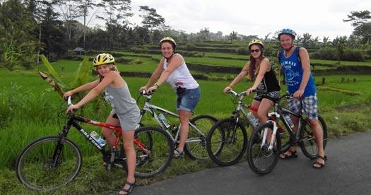 reisinformatie Indonesië - fietsen Ubud met kinderen