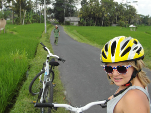 fietsen ubud tiener bali