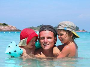 Bali gezondheid - zwemmen