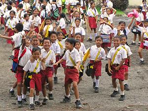 hulp project schoolplein