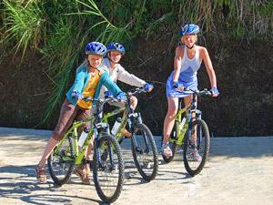 Vakantie Bali met kinderen - fietsen