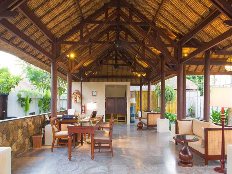 Special stay Nusa Lembongan Bali - familie resort lobby