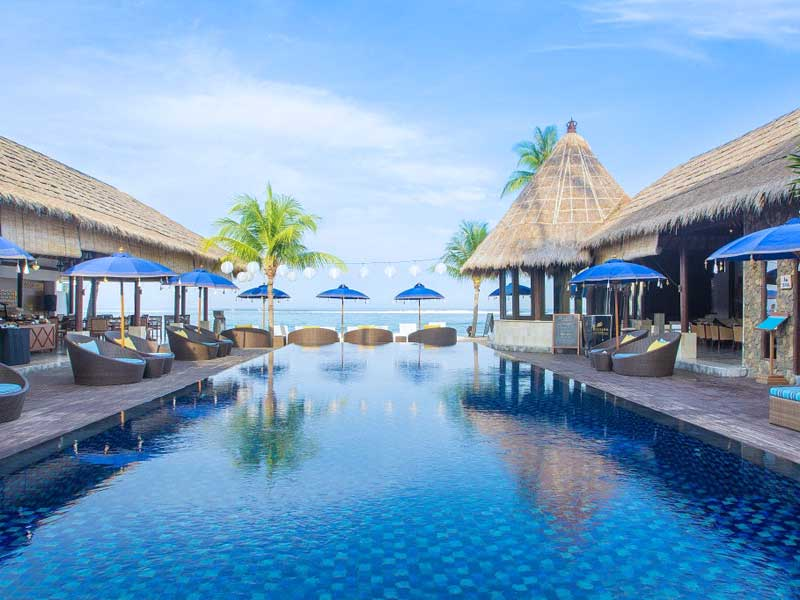 Special stay Nusa Lembongan Bali - familie resort zwembad