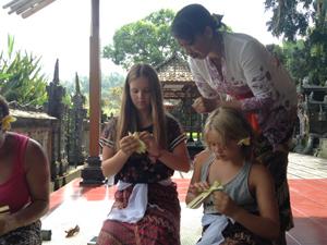 offers maken familiereis Bali