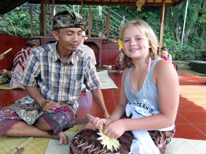 offertjes maken waterpaleis Bali