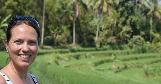 reisinformatie Indonesië - Sawah Bali kids