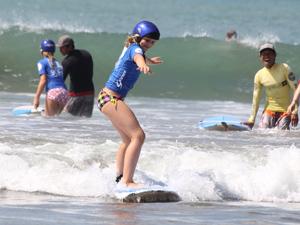 Bali gezinsreis surfen