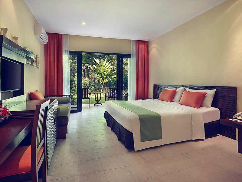 Sanur Bali - upgrade resort kamer