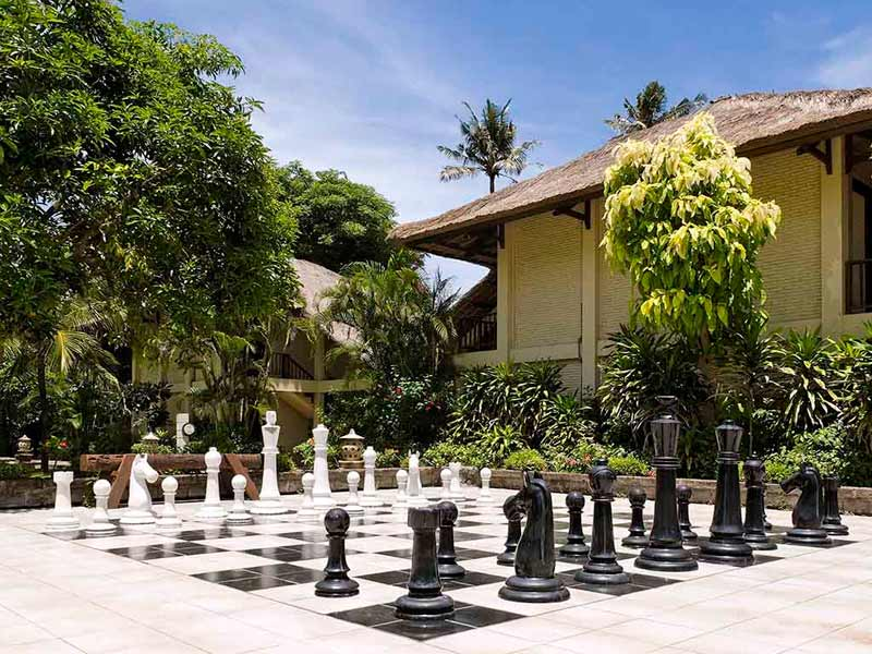 Sanur Bali - upgrade resort schaken