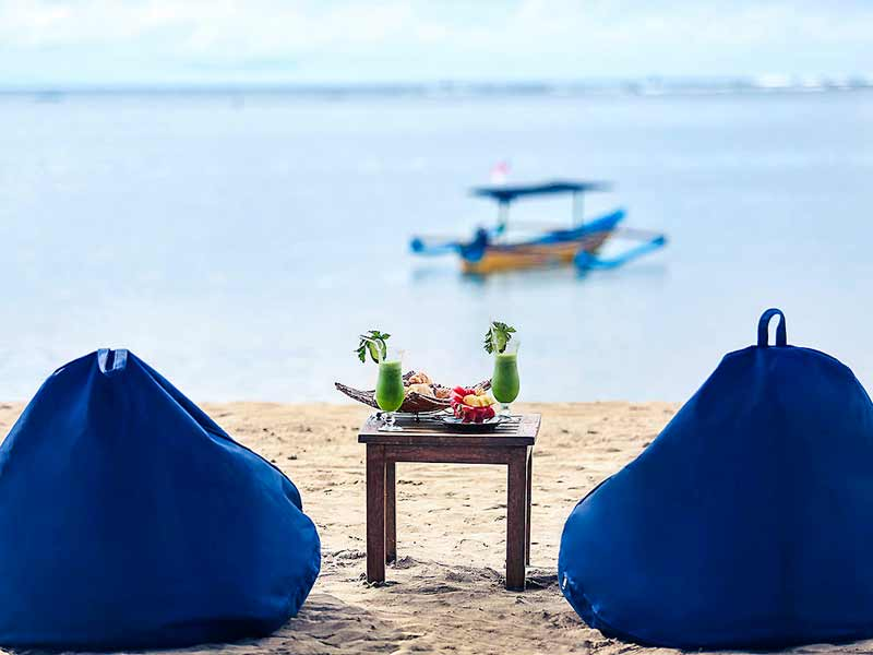 Sanur Bali - upgrade resort strand