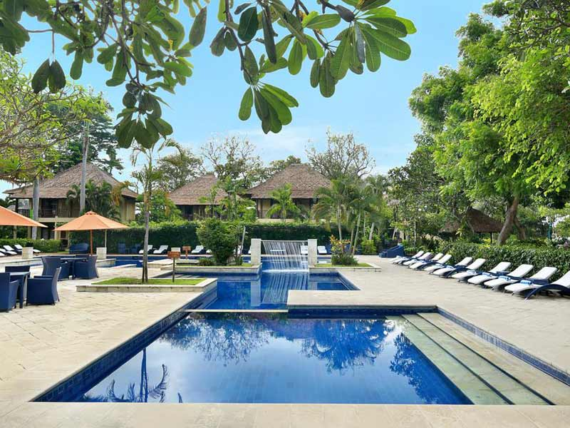 Sanur Bali - upgrade resort zwembad