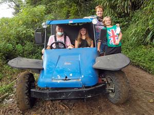 bali buggy rijden - Bali gezinsreis