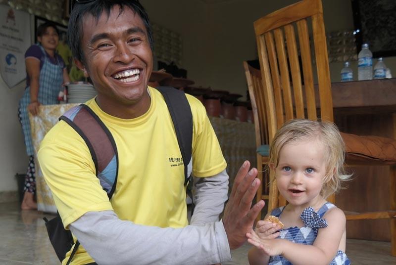 Bali vakantie met kinderen - smile