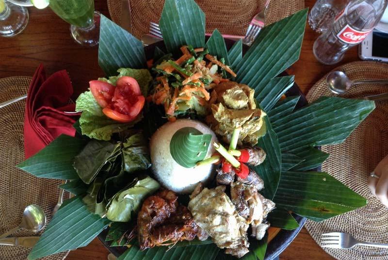 Eten Bali reis kids