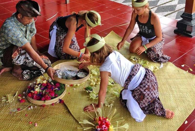 Offers maken Bali kids