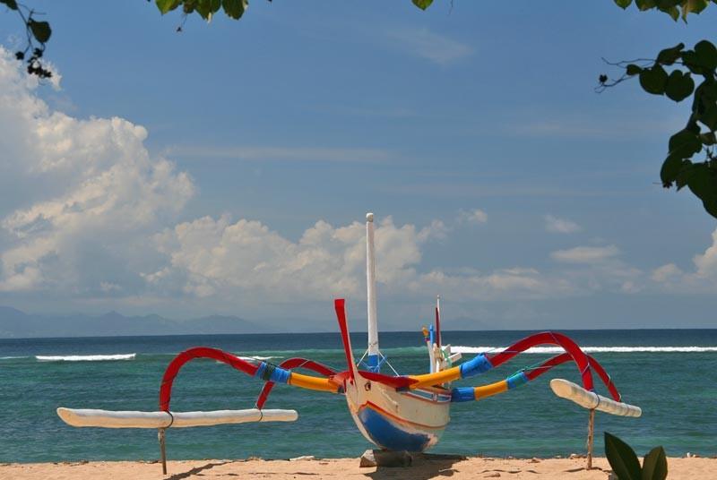 Vakantie Bali met kinderen - boot