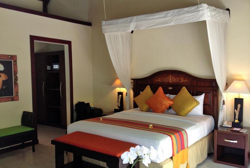 Reizen Bali met kinderen - kamer