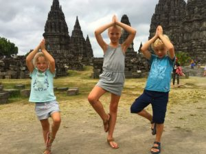 Indonesie Family Prambanan