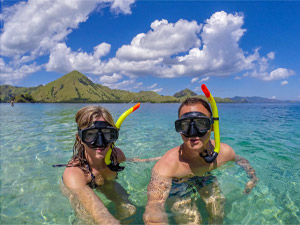 Flores met kinderen - snorkelen Komodo