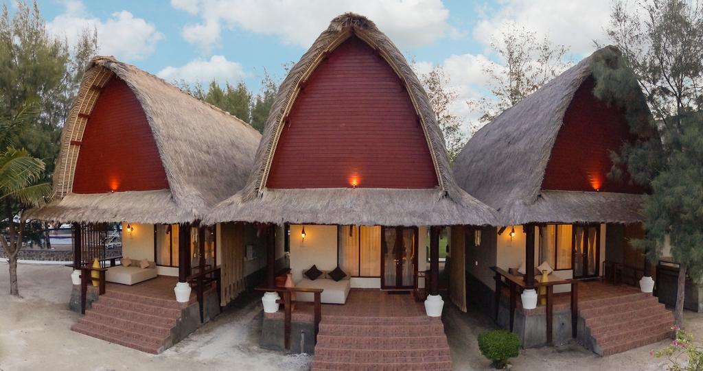 Indonesië Gili eilanden Trawagan - special stay cottage