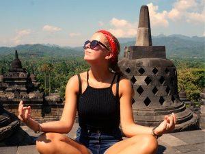 Familiereis Indonesië - Borobudur tieners