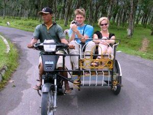 Sumatra met tieners