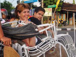 Medan Sumatra Indonesië - met kinderen