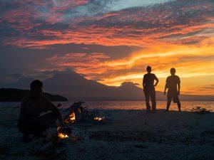 Indonesie zonsondergang