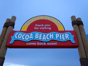 Florida met kids - Cocoa Beach