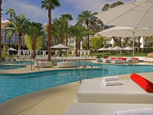 Amerika met tieners - Las Vegas hotel