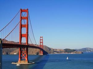 Amerika met tieners - Golden Gate Bridge