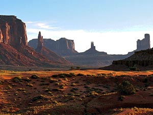 Amerika Kids - jeep Monument Valley