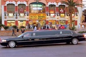 Autorondreis Amerika met kids - Limousine in Las Vegas