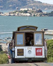 tram san fransisco amerika