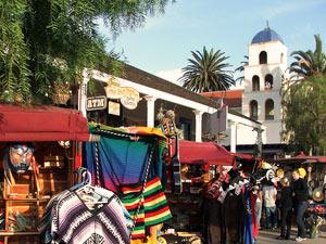 Amerika met tieners - San Diego Old town