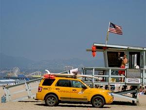 Autorondreis Amerika Kids - Santa Monica