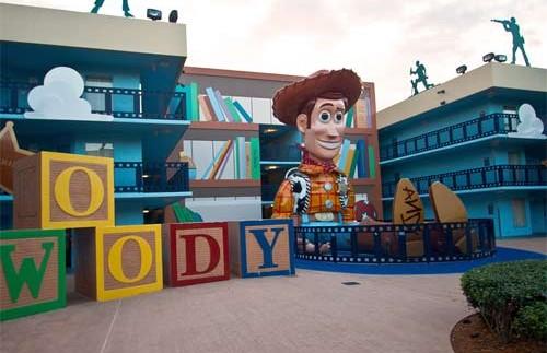 Florida rondreis met kids - Orlando Themahotel Woody