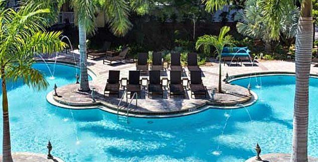 Amerika Florida met kids - Fairfield inn zwembad