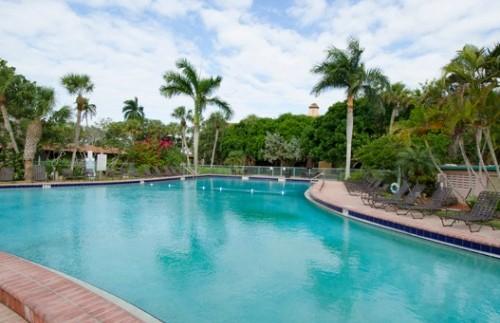 Everglades Florida Amerika - zwembad voor kinderen