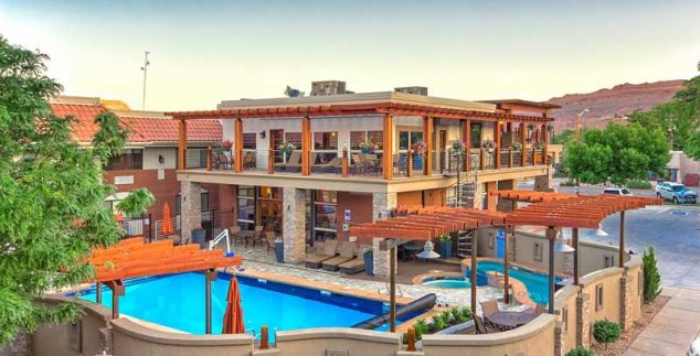 Amerika kids - hotel Moab