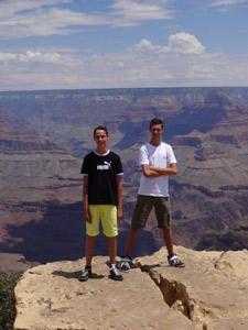 Amerika met tieners - Grand Canyon