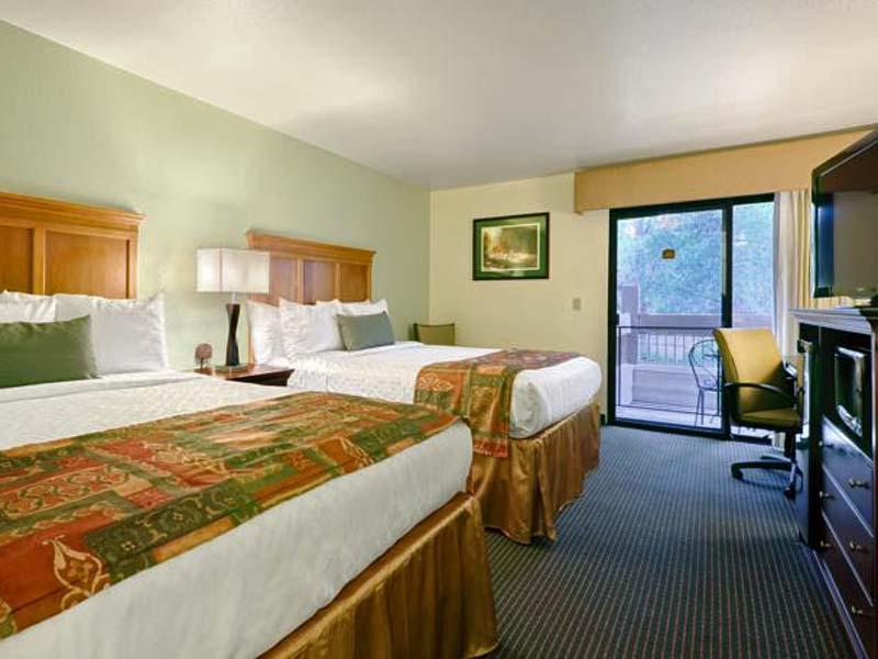 Yosemite gezinsreis - Senora hotel kamer