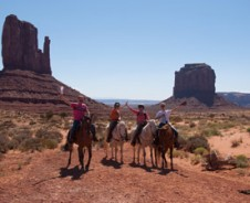 Zadel op, Monument Valley in
