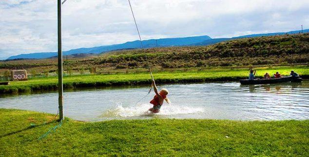 Ranch Bryce Canyon Amerika kinderen zwemmen