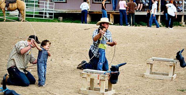 Ranch Bryce Canyon Amerika - kinderen