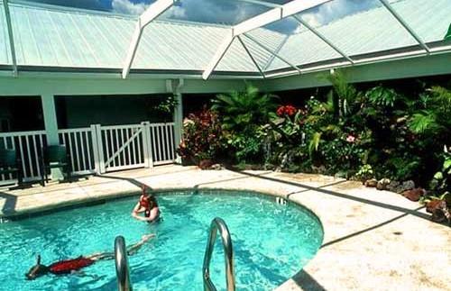 Everglades Florida Amerika - lodge zwembad